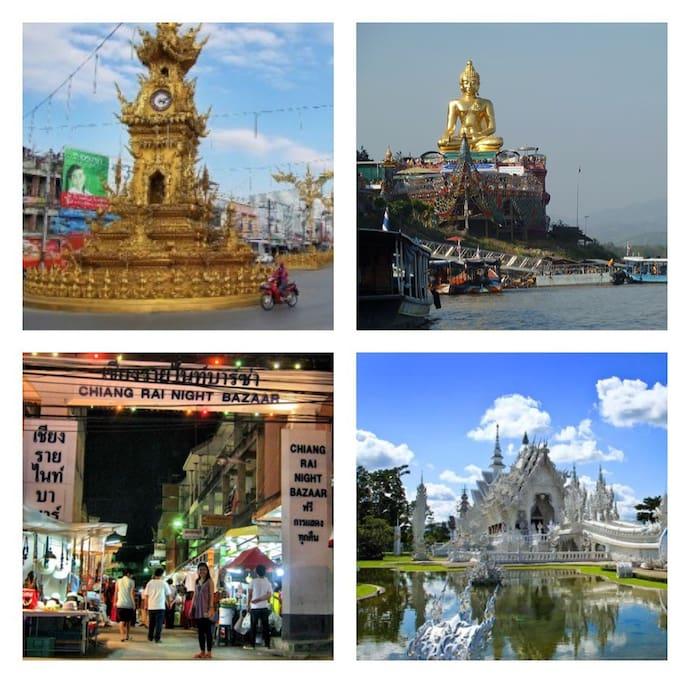 Places to Visit around ChiangRai