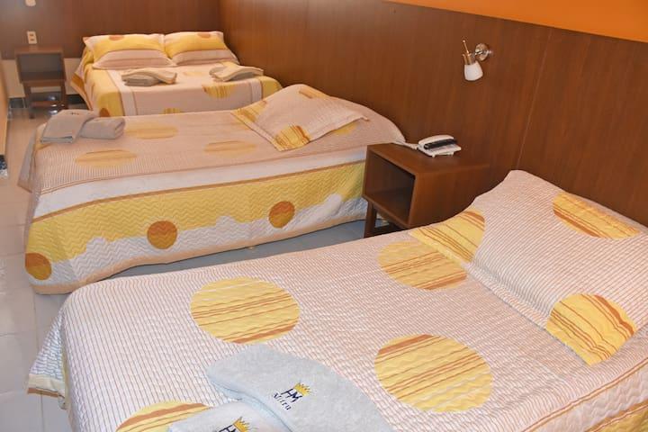 Hotel Mitru: Triple estándar