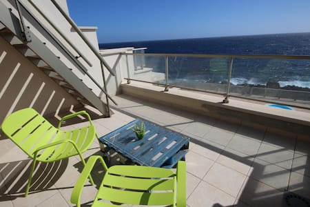 Amazing views, nice apartment, quiet place - Santa Cruz, Teneriffa - Huoneisto