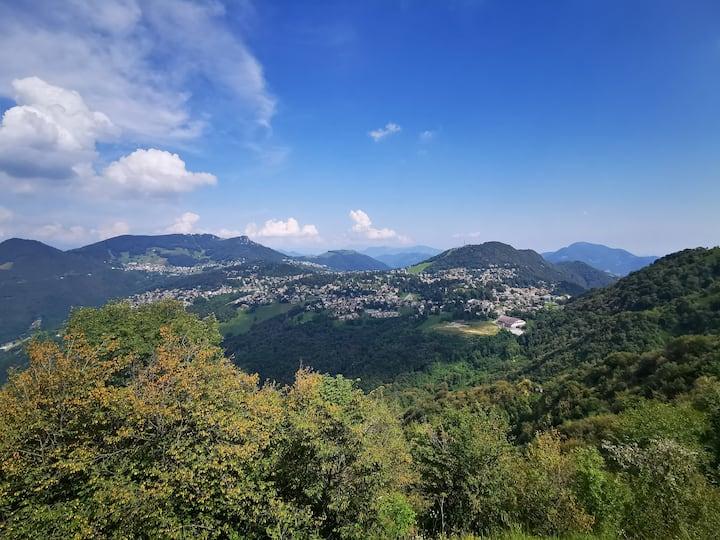 La terrazza in Val brembana