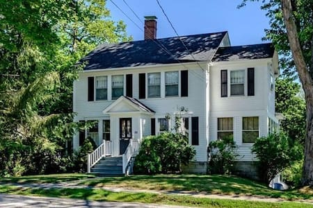 Charming Colonial Steps Away from Bates College!
