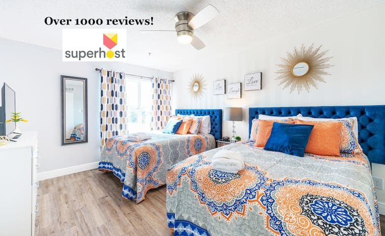Magical Newly Renovated! 1.5 Miles to Disney (754)