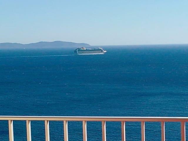 Ajaccio Sanguinaires : T2  vue mer panoramique