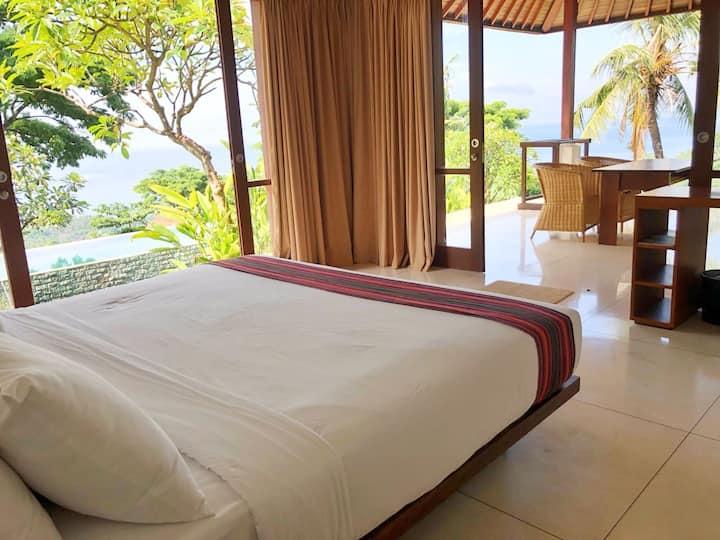 Villa Sukun - sunset volcano & ocean views - Suite