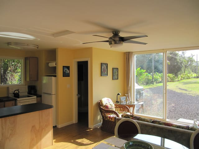 Leilani Estates Cottage, Puna, on the Big Island
