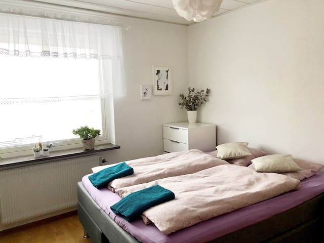 Private apartment with great central,calm location