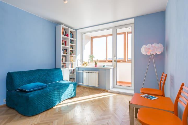 Blue Velvet Apartment/Квартира Синий Бархат