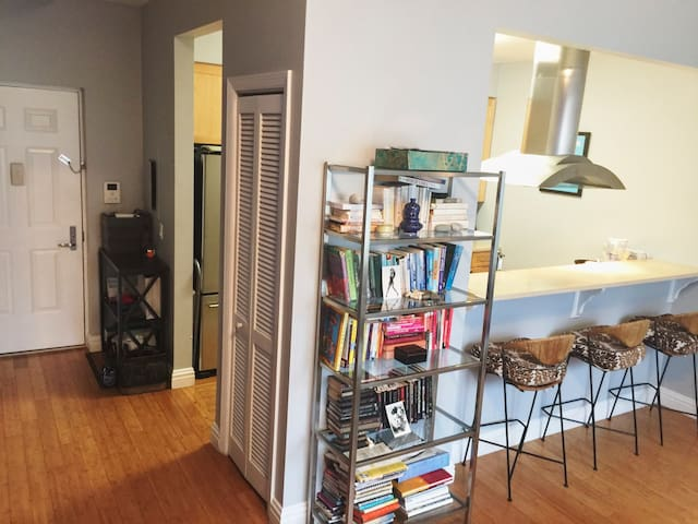 Living Room, bookcase