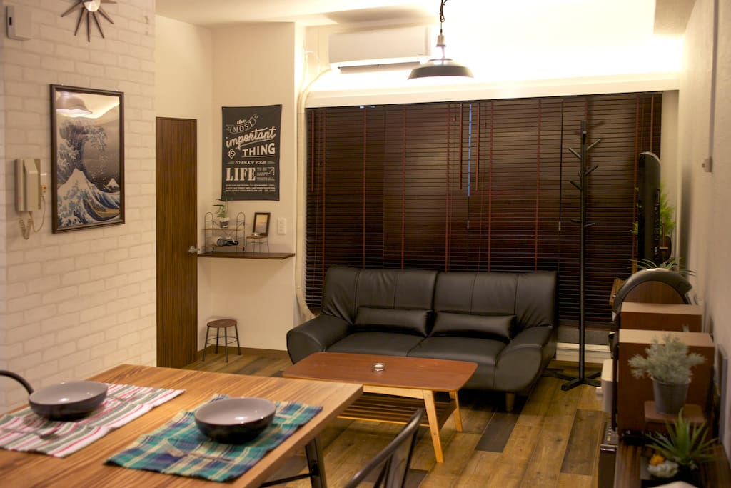 Shinjuku new apartment with free wifi 2 rooms Tokyo Japan