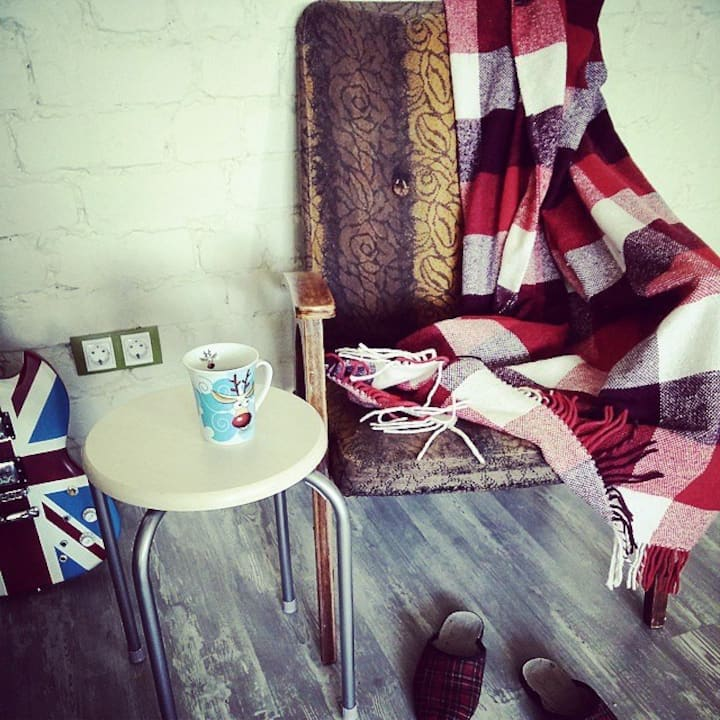 Cozy studio in the heart of the city