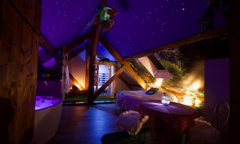 La Vallée des Rêves - Chambre Jardin d'Eden