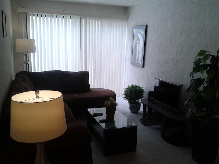 Modern 2 bedrooms condo 7 mins to centro historico