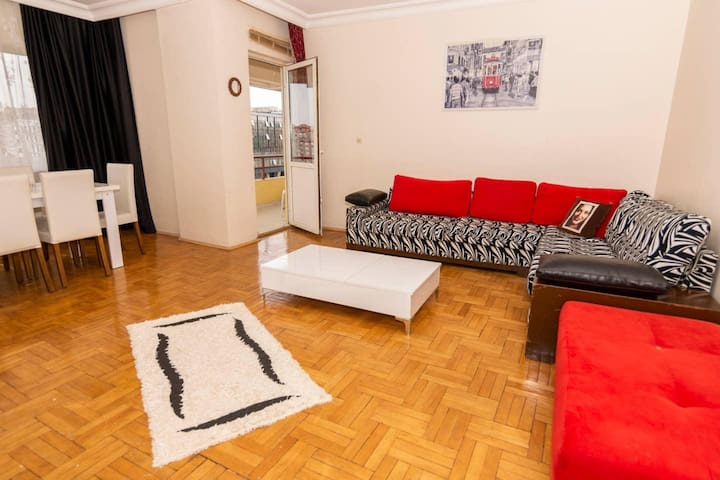 Huge Apartment - 5 min to SAW Airport