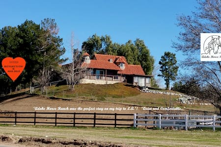 """The Victorian""at Adobe Horse Ranch - Agua Dulce"