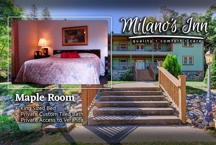 Maple Room ~ Milano's Inn