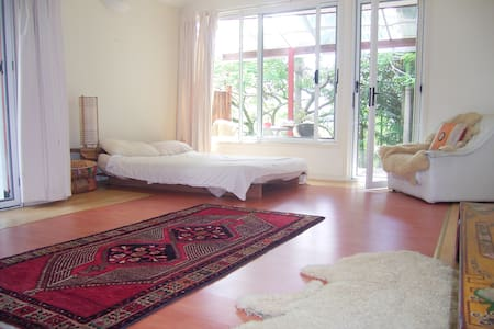 Lovely large rooms nr. Byron Bay - Mullumbimby Creek - Talo
