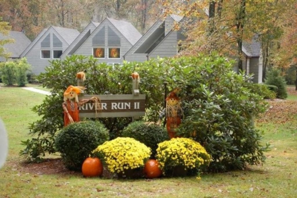 River Run II Condominium Complex - Next to and overlooking The Country Club of Sapphire Valley.  That's right - you will be enjoying a country club lifestyle when you stay here!