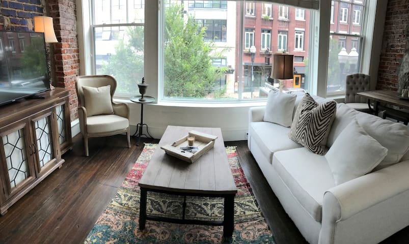 Downtown French styled loft directly on Gay Street