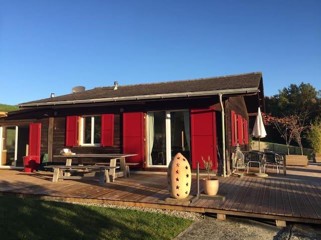 Mach Ferien im Naturpark Gantrisch  für 4-6 Gäste