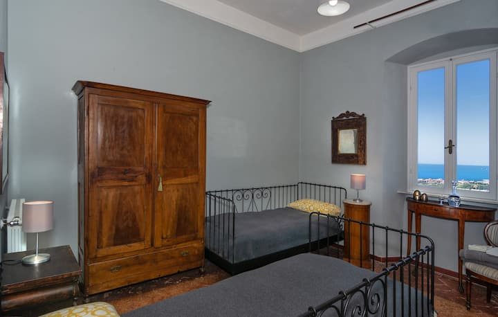 Single room at Villa Eugenia