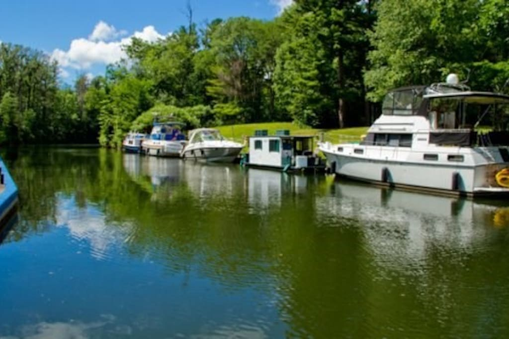 Visit Newboro on one of your stops along Rideau Canal.
