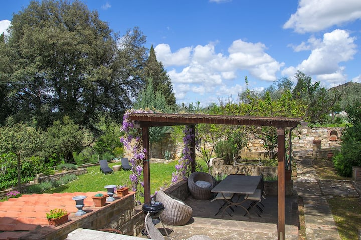 Chianti Florence Luxury House with Garden