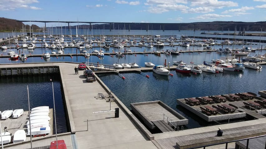 New cosy apartment on Vejle Marina - Vejle - Flat