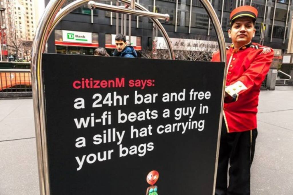 citizenM home of mobile citizens à Amsterdam Noord