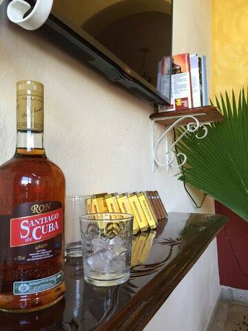 Villa coloniale nei caraibi.Cuba.