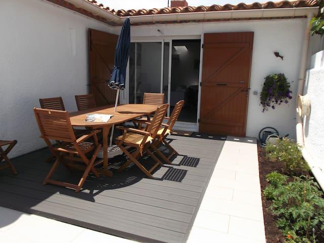 maison plain-pied à 300 mètres de la plage - Saint-Cyprien