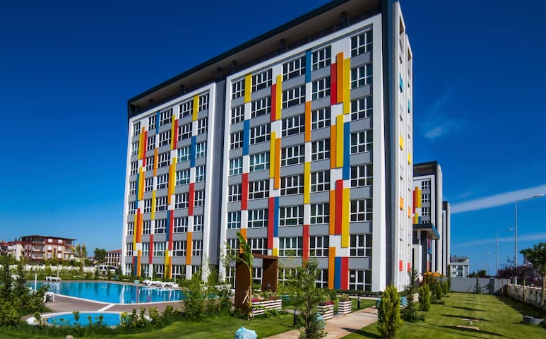 Studio Lego Residence 15min to Antalya city center