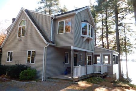 4Br Lakefront/Ski Home in Otis - Otis - House - 1