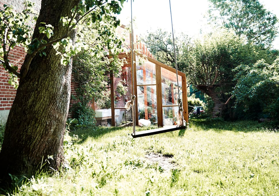 Up for a swing? Or just a coffee in the midday sun.