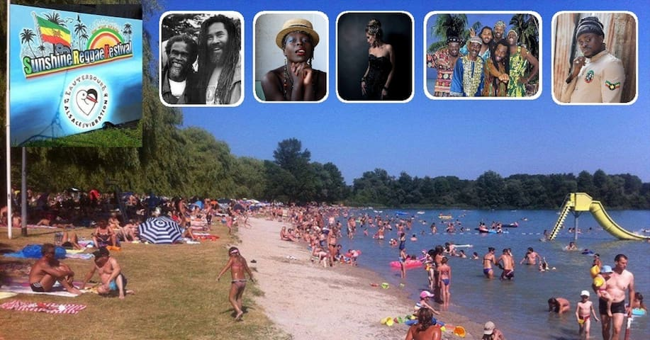 7. Sunshine Reggae Festival on the Beautiful Beach - Lauterbourg - Jiné