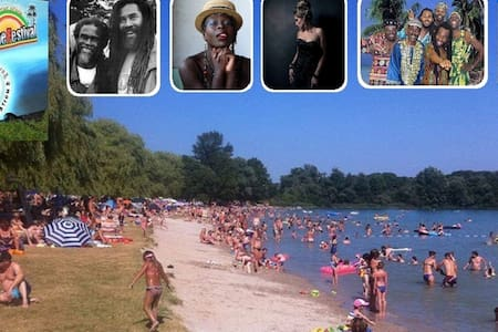 7. Sunshine Reggae Festival on the Beautiful Beach - Lauterbourg - Inny