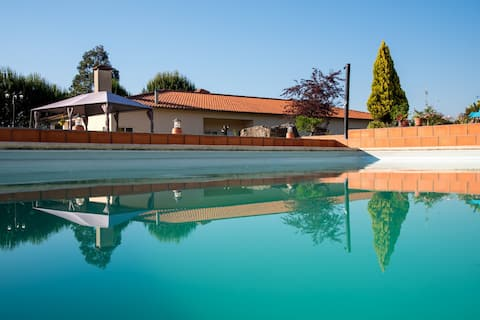 Luxury villa with pool near Oporto