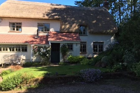 Holiday Cottage, large garden - Exminster