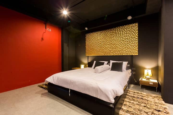 3floor 1 bedroom in Villa w Rooftop,Gym,Cinema,Bar