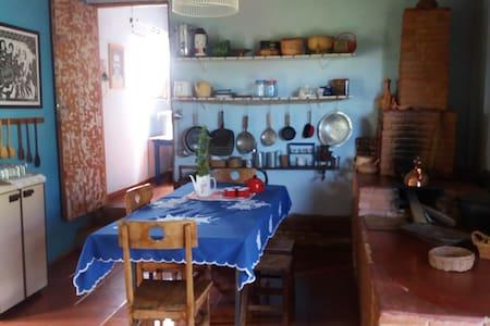 Hospedaria Casa Amarela - Alexânia - 独立屋
