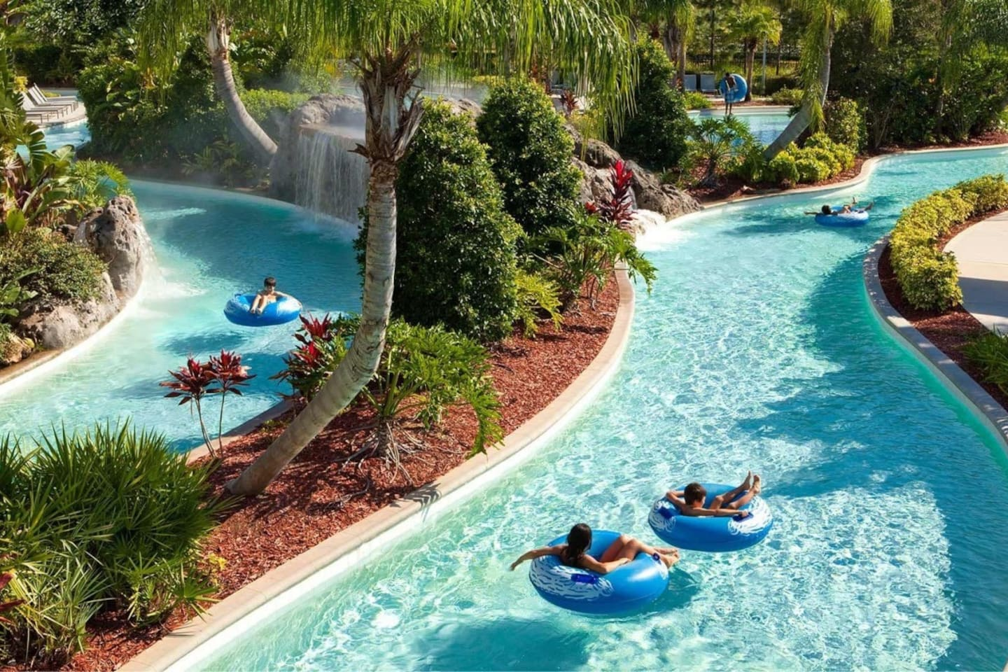 Float away on our neighborhood's Lazy River - just a short bike ride from the house