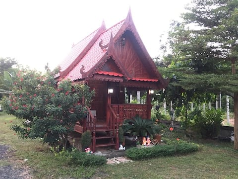 Small warm Wooden House
