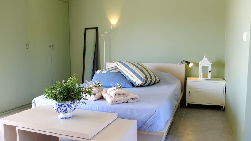 Sea and Olive Studio - Euboea, Amarynthos, Galazia Nera - Appartamento