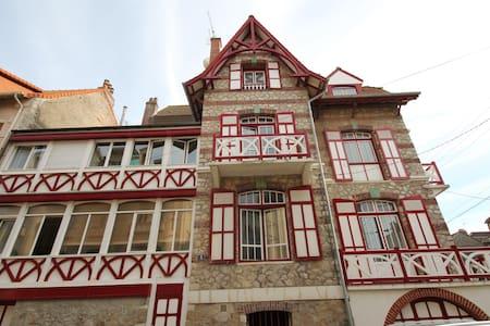Villa Touquettoise Rouge - Le Touquet-Paris-Plage - วิลล่า