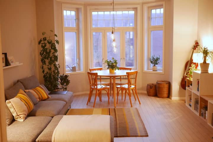 Classic townhouse apartment in central Trondheim
