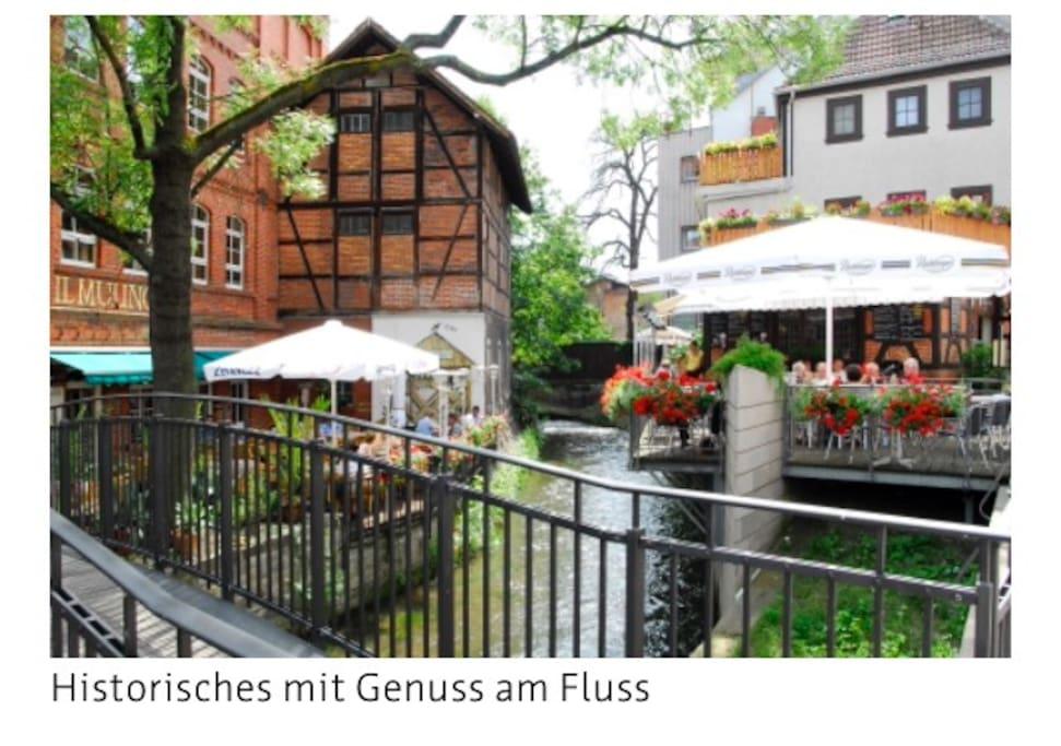 Restaurants/Café oder das Domcafé in 50 m erreichbar, gern reservieren wir Ihnen einen Tisch.