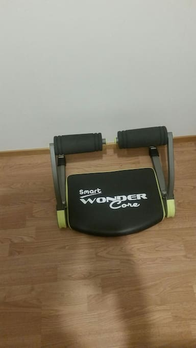 a quick gym equipment has just been added to help u keep fit. It's easy to use and could do 8 pr more different task.