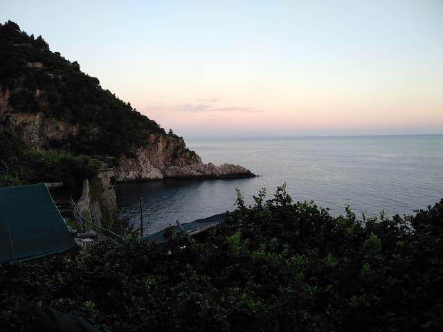 Campeggio a Maiori con discesa a mare