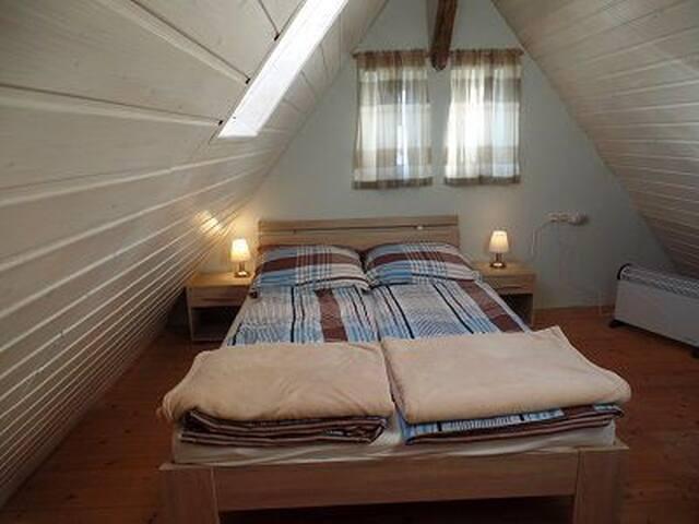 Ferienhaus Schmid, (Albstadt-Onstmettingen), Ferienhaus Schmid, 52qm, 1 Schlafzimmer, max. 4 Personen