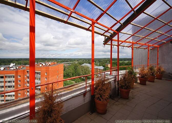 Exclusive penthouse with 5 terraces - Riga - Leilighet