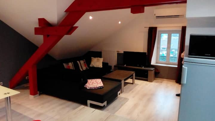 Appartement F2 de 60m2 meublé climatisé neuf